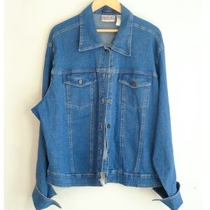 BILL BLASS Plus Size Denim Jacket